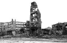 The aftermath of the Battle of Stalingrad.