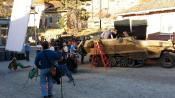 Movie set of War Pigs