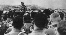 1942, Kraljevo, Serbia, Solders of the SS.