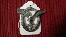 Seller/Item 002: Replica Luftwaffe Pilots Badge $25USD plus Shipping/Insurance