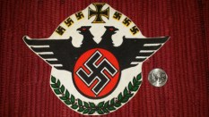 Seller/Item 004: Nazi Patch – $25USD plus Shipping/Insurance