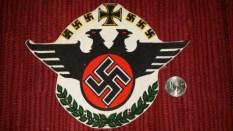 Seller/Item 004: Nazi Patch – $25USD plus Shipping/Insurance