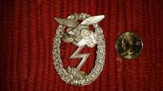 Seller/Item 002: Replica Luftwaffe Ground Assault Badge $25USD plus Shipping/Insurance