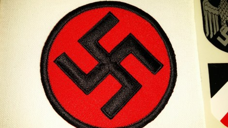 Seller/Item 003: Nazi Cloth Patch – $10USD plus Shipping/Insurance
