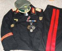 Heer Panzer General Officer's uniform. Order Catalog for http://soldat.com/ or Soldat FHQ on Facebook.