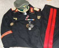 Heer Panzer General Officer's uniform. Order Catalog for http://soldat.com/ or Soldat FHQ on Facebook.