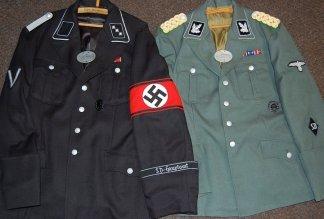 SD Hauptamt & Police General uniforms. Made by http://soldat.com/ or Soldat FHQ on Facebook.