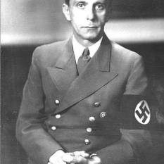 Goebbels, German Federal Archive photo.