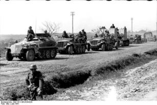 Invasion of Russia- Motorized troops on the rise.
