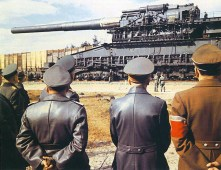 Adolf Hitler Inspecting Gustav.