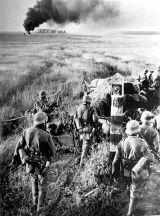 German troops at the Soviet state border marker, 22 June 1941.