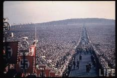 Hitler, Thanksgiving Day, 1937, Buckeberge. 'The Street of People'