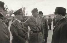 Hitler and Finland's Mannerheim.