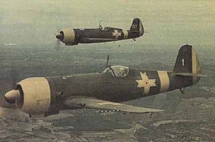 Romanian IAR 80 fighter planes.