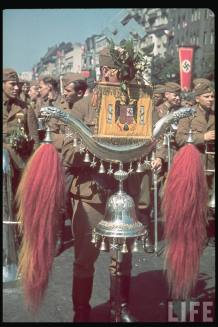 Parade of Legion Condor having returned from Spain. Berlin, June 3 1939.