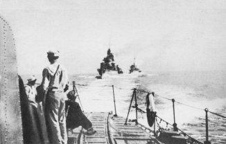 Peking Plan: Polish destroyers evacuate the Baltic Sea en route to the United Kingdom.