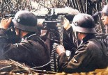 Feldgendarmerie MG 34 team.