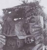 Waffen-SS 8 cm Raketen-Vielfachwerfer Maultier