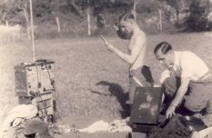 Soldat with Funkgerat.