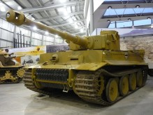 Bovington Tiger 131 used in Fury.