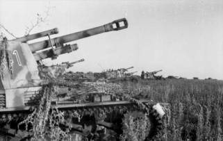 Wespes at the Battle of Kursk