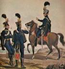 The Austrian Hussar cavalry, 18th century.