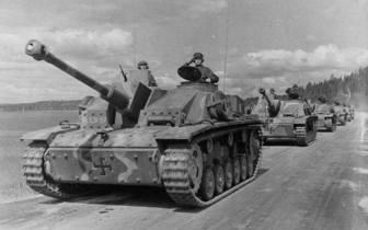 Finnish StuG III's.
