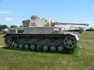 The 1942 Panzer IV Ausf. F2 was an upgrade of the Ausf. F, fitted with the KwK 40 L/43 anti-tank gun to counter Soviet T-34 and KV tanks.