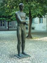 Memorial statue at the Bendlerblock by Richard Scheibe.