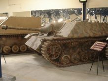 A Jagdpanzer IV at the Musée des Blindés – Tank Museum – France