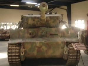 Tiger at the Musée des Blindés - Tank Museum - France.