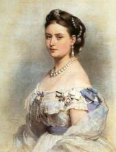 Victoria, Princess Royal—eldest daughter of Queen Victoria—whom Frederick married in 1858.
