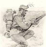 World War 1 drawing.