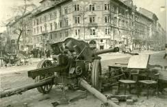 Siege of Budapest 1945.
