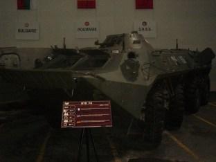 BTR 70 - Musée des Blindés - Tank Museum - France