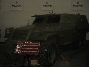 BTR 152 at the - Musée des Blindés - Tank Museum - France.