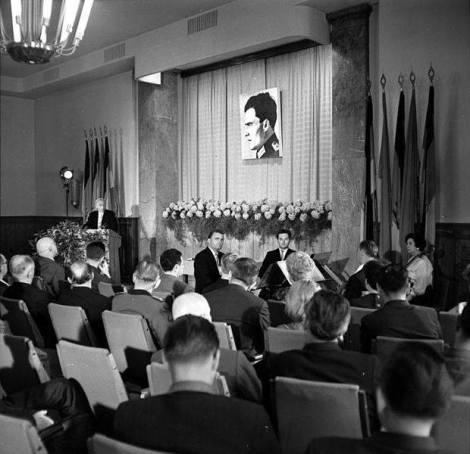 20th anniversary memorial service for Claus von Stauffenberg.