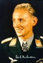 "Erich Hartmann nicknamed ""Bubi"" by his comrades and ""The Black Devil"" by his Soviet adversaries, was a German fighter pilot during World War II and is the most successful fighter ace in the history of aerial warfare."