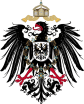Imperial Eagle of the German Empire from 1889 to 1918.