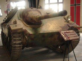 Hetzer at the Musée des Blindés - Tank Museum - France.