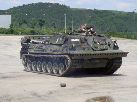 Bergepanzer 2 (Armoured recovery vehicle) GE Army.