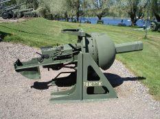 Russian 76 mm bunker gun model 76K27.