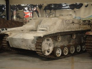 StuH 42 or Sturmhaubitze 42, Sd.Kfz 142/2 at the Musée des Blindés - Tank Museum - France.