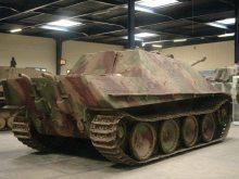 Jagdpanther at the Musée des Blindés - Tank Museum - France.