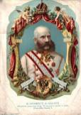 WW1 Austro-Hungarian post cards. The memory of 40-year reign on Franz Joseph 1848-1888.