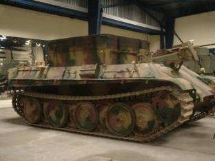 Bergepanther at the Musée des Blindés - Tank Museum - France.