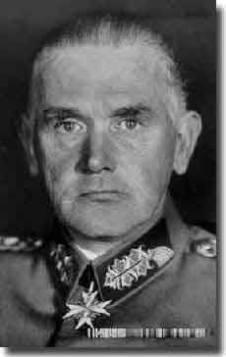 Field Marshal Werner von Blomberg