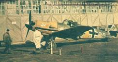 Bf 109 of ace Max-Hellmuth Ostermann.