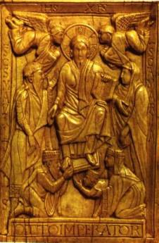 Otto I, Holy Roman emperor and his family.
