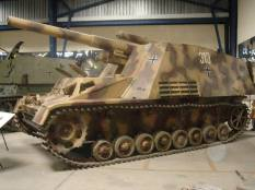 Hummel at the Musée des Blindés - Tank Museum - France.